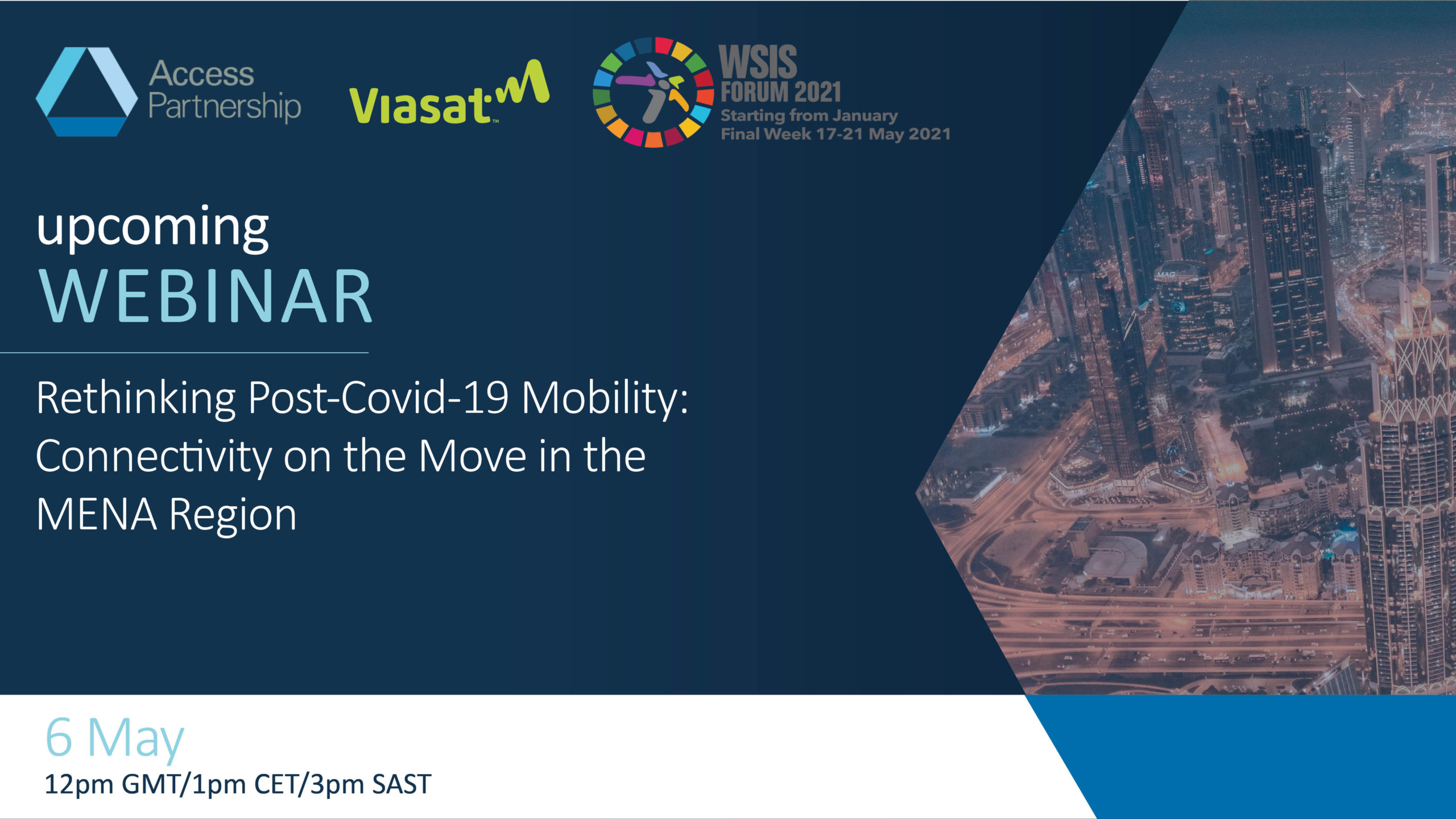 Workshop   Rethinking Post-Covid-19 Mobility: Connectivity on the Move in the MENA Region